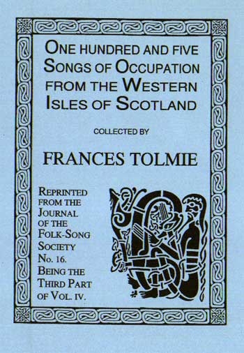 105 Songs from Occupation from the Western of Scotland