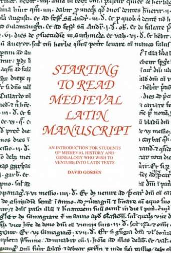 Starting To Read Medieval Latin Manuscript