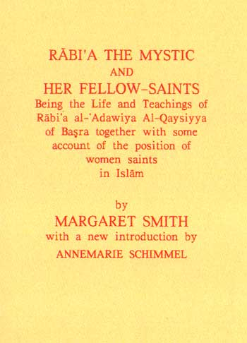 Rab'ia The Mystic and Her Fellow Saints