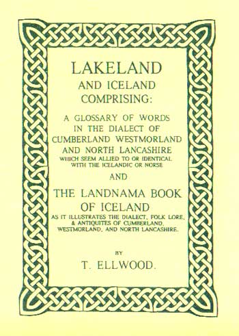 Lakeland and Iceland: The Landnama book of Iceland