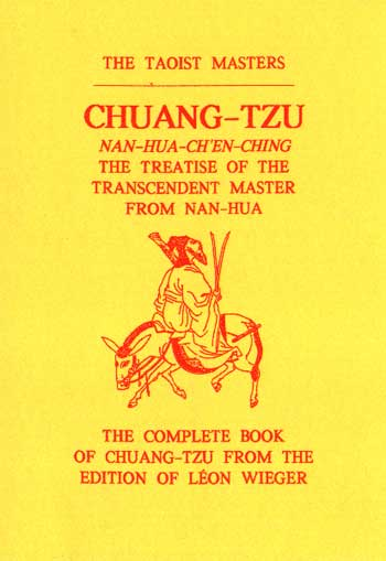 Chuang Tzu: The Treatise of the Transcendent Master from Nan