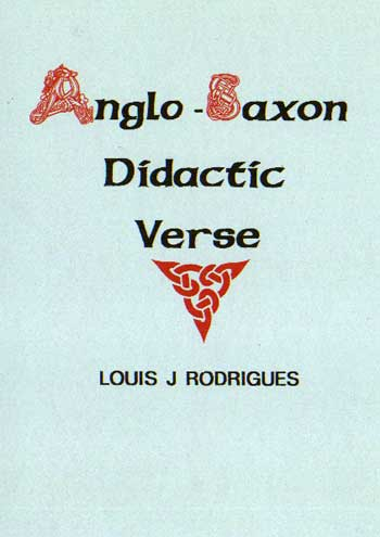 Anglo-Saxon Didactic Verse