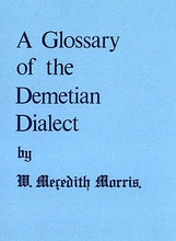 A Glossary of the Demetian Dialect