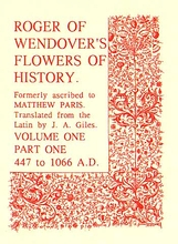 Roger of Wendover's Flowers of History Volume 1: Part 1: 44