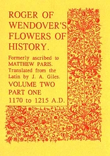 Roger of Wendover's Flowers of History Volume 2: Part 1: 117