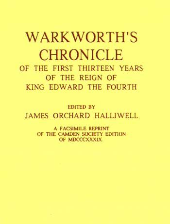 Warkworth's Chronicle