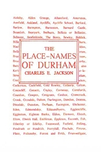 The Place Names of Durham
